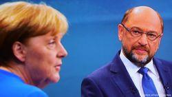 Теледебаты Меркель и Шульца