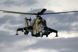 СНБО: три российских боевых вертолета залетели в Украину