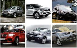 BMW X5, Kia Sportage, Nissan X-Trail