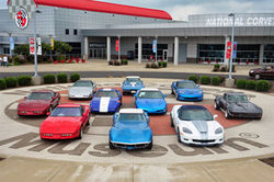 Экспозиция National Corvette Museum  в Кентукки