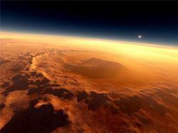 На Марсе нашли загадочный светящийся объект