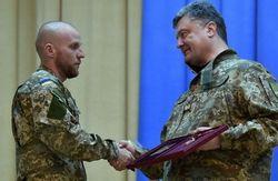 Комбат Миргородский стал полным кавалером ордена Богдана Хмельницкого