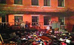 Тягнибок: коммунисты сожгли офис, чтобы обвинить других в поджоге