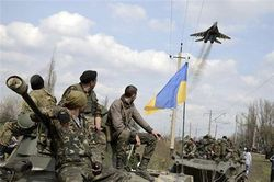 С начала АТО погибло 258 военнослужащих Украины, Царев говорит – 5 тысяч
