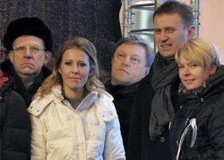 Собчак, Навальный и Явлинский перетасовывают протестный электорат