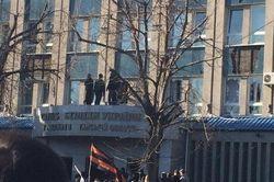 В Луганске в помещении СБУ находятся офицеры ФСБ России