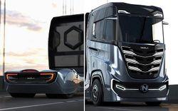 Представлено новое поколение грузового электромобиля Nikola Tre