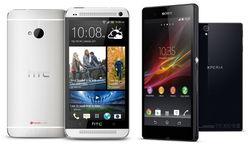 60 наиболее популярных смартфонов в Интернете сентября 2014 г.