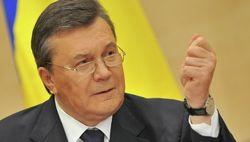 Янукович признал выбор украинского народа «в трудное время»