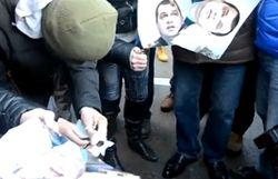 Сожжение фото Пшонки и Захарченко в Одессе привело к возбуждению дела