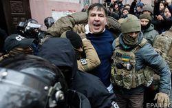 Сторонники Саакашвили не дали задержать его