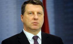 Утром был госпитализирован президент Латвии