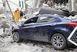 Армия Тайваня поможет вывести выживших людей из-под завалов