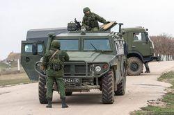 Под Бахчисараем автобат ВМС Украины ведет бой с армией РФ