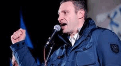 Виталий Кличко на Евромайдане