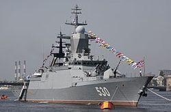 В Балтийском море морфлот России прогнал корабли с их курса