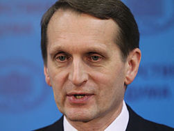 Спикер Госдумы рассказал Турчинову, в каком случае Россия применит войска в Украине