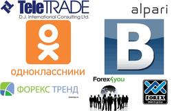 Названы лидеры популярности среди брокеров в соцсетях: Forex Trend и Forex4you лидеры
