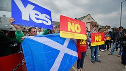 Большинства за независимость Шотландии нет, 23 процента еще не определились