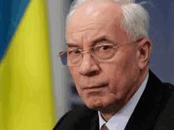 Премьер Николай Азаров на трибуне Рады