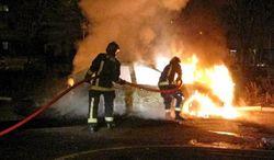 Французы отметили Новый год поджогом тысячи авто