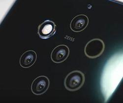 Блогерам на заметку: представлен 5-камерный Nokia 9 PureView