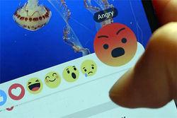 Facebook расширит лайки за счет «злюсь», «грущу» и «восторгаюсь»