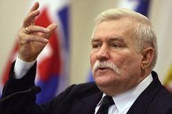 Лех Валенса в Киеве: «Я делал больше для Украины, чем Польши»