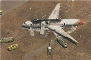 Авиакатастрофа в Сан-Франциско: ущерб - 120 млн. долл., страховка – 100 млн.