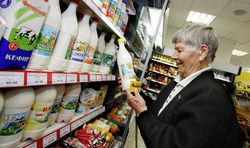 Результат контрсанкций – Россия импортирует на 75% меньше молочной продукции