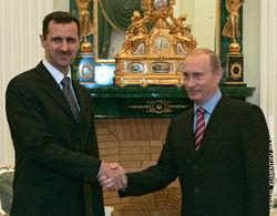Стало известно, о чем говорили Путин и Асад в Москве
