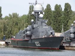 РФ подарила Египту ракетный катер Р-32