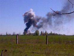 На аэродроме Краматорска взорвался вертолет – причины