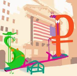 Курс доллара США растёт к рублю на фоне выделения инвестиций от фонда Катара РФПИ