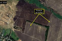 Amnesty International показала фото из космоса войск РФ на Донбассе