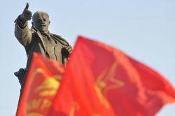 Российские коммунисты собираются на антифашистский митинг в Киев