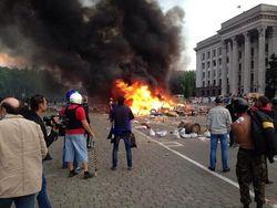 Версия применения хлороформа в Одессе 2 мая не подтвердилась