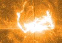 НАСА смогли сделать точные снимки вспышки на Солнце