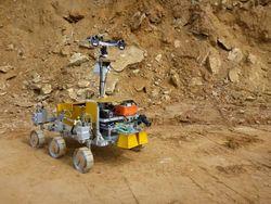 Прототип европейского марсохода приступил к тестам в чилийской пустыне