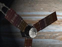 Аппарат Juno успешно вышел на орбиту Юпитера