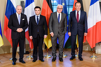 МИД Германии: вскором времени может состояться встреча министров «нормандской четверки»