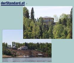 Как Янукович: Путин и Медведев строят шикарные дачи на Волге
