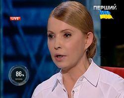 Тимошенко назвала Путина «врагом номер один»