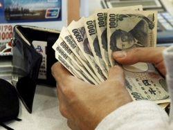 Курс доллара продолжает расти против японской иены на 0,07% на Форекс