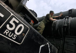 Отвод российских войск от границы с Украиной – не повод для отмены санкций