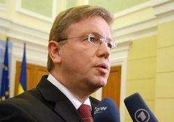 В Украину прибудет еврокомиссар Фюле для решения проблемы Тимошенко в ВР