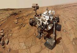 Марсоход Curiosity заснял на Марсе НЛО