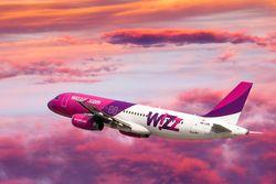 Лоукост Wizzair открывает рейс из Киева в Вильнюс