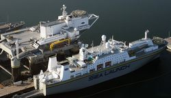 Российский холдинг S7 Group купил плавучий космодром «Морской старт»