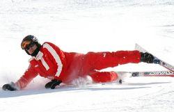 Михаэль Шумахер любил кататься на горных лыжах